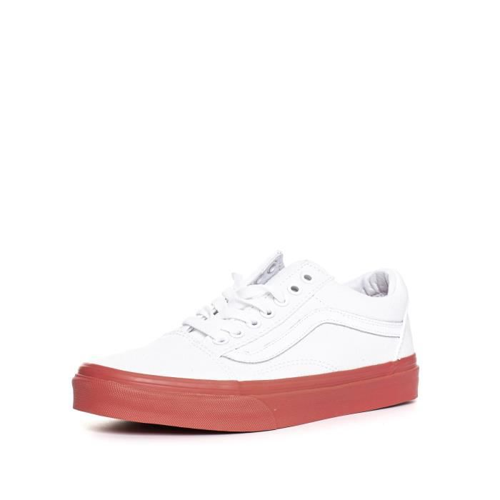 VANS_basket_ UA Old Skool (MLX) True Whit Mixte_Mixte_Blanc