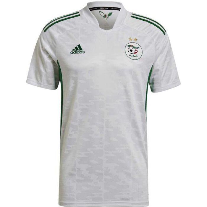 Maillot Adidas Domicile Algérie 20/21 Blanc