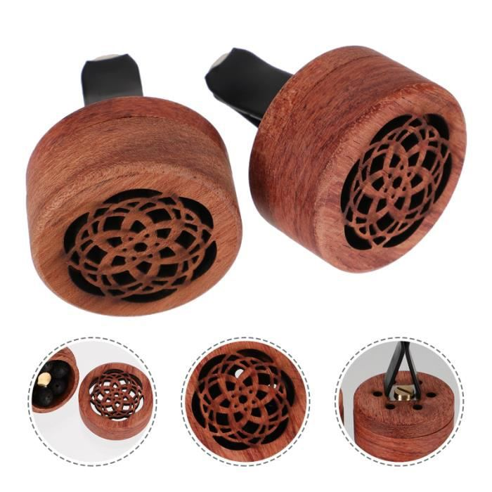 1pc aroma en bois diffuseur de voiture Encens en de parfum de desodorisant auto - parfum auto confort conducteur passager