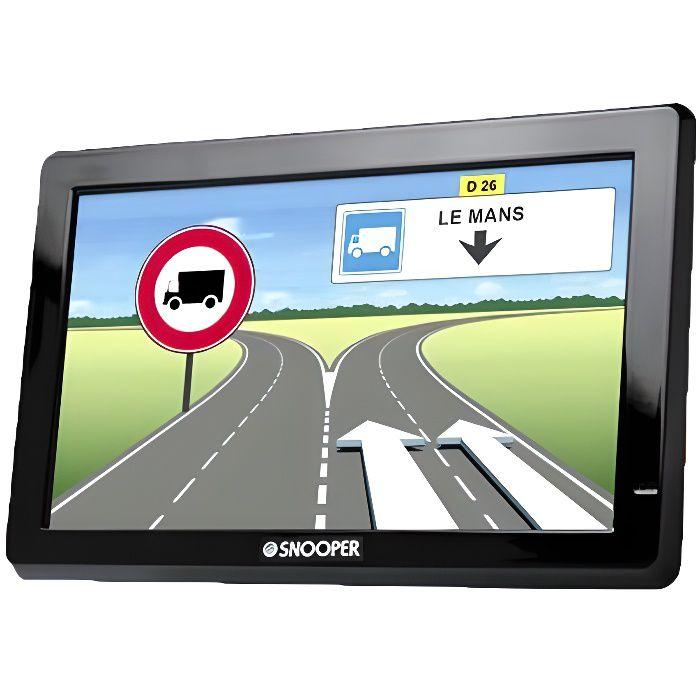 SNOOPER GPS Poids Lourds Truckmate 6200 Ecran 7- Mise à Jour à Vie