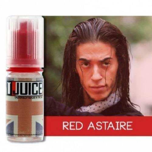 Lot de 10 E-liquides Red Astaire TJuice 12 mg / 10ml