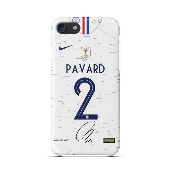 coque iphone x xs pavard blanc 2018 coupe du monde