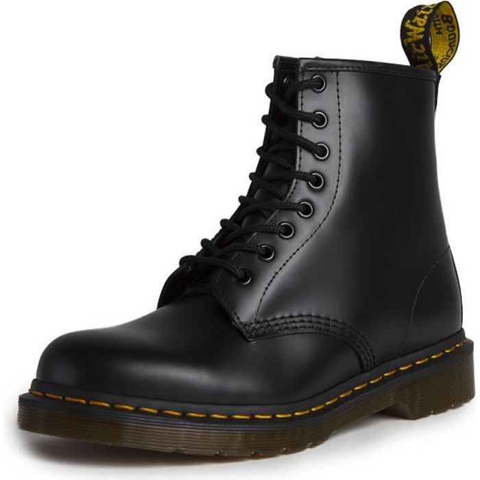 doc martens 1460 noir noir achat vente bottine soldes cdiscount. Black Bedroom Furniture Sets. Home Design Ideas
