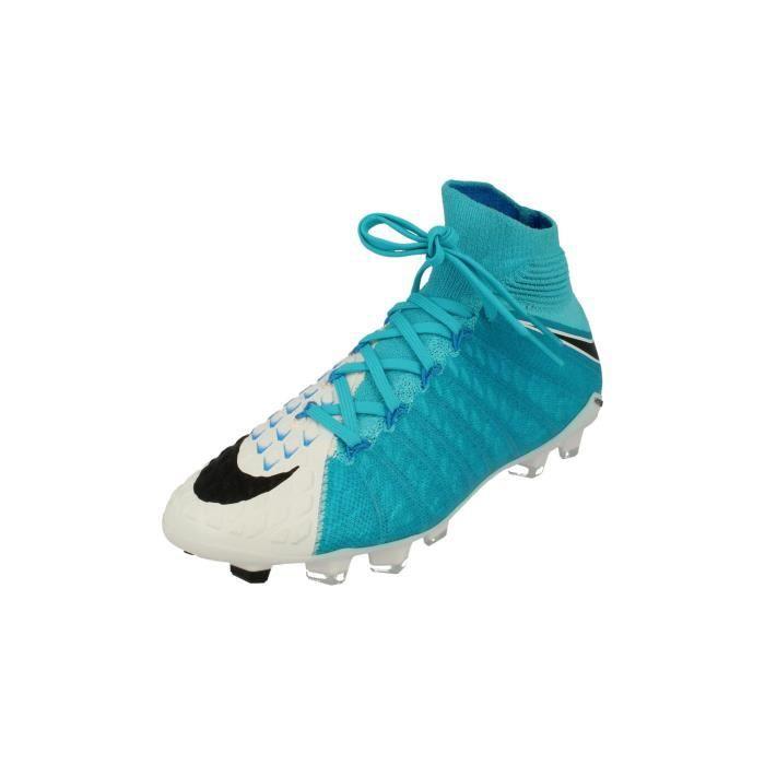 CHAUSSURES DE FOOTBALL Nike Junior Hypervenom Phantom 3 Df FG Football Bo