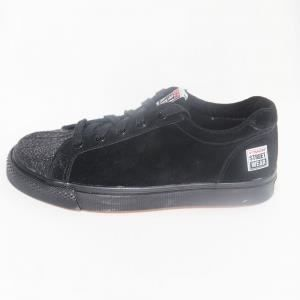 Shoes Vintage VISION STREET WEAR BROOKLYN BARBWIRE BLACK RED FYu676SxX