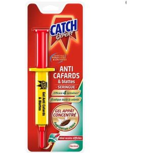 PRODUIT INSECTICIDE CATCH Gel Anti Cafards & Blattes - 10G