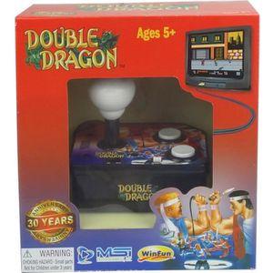 CONSOLE RÉTRO Console avec jeu vidéo intégré Double Dragon TV Ar
