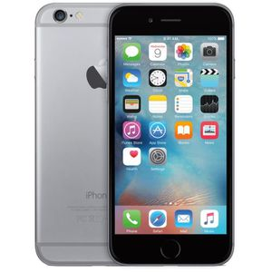 SMARTPHONE APPLE iPhone 6  noir 16Go