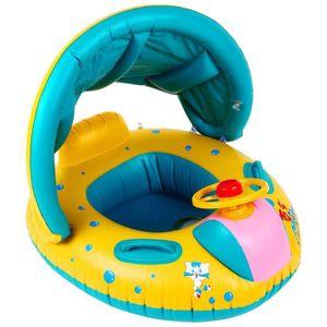 BOUÉE - BRASSARD Piscine gonflable bébé flotteur anneau avec piscin
