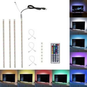 BANDE - RUBAN LED Ruban Bande Lumineuse 5050 RGB - 44 boutons sur té