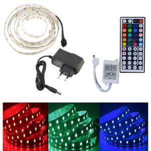 BANDE - RUBAN LED 2M Bande Ruban Flexible Lumineux 5050 Smd 60 Led R