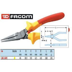 Facom Pince universelle isol/ée 187,16 Ve 1000 V 16 cm