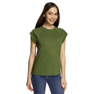 T-SHIRT T-shirt en coton avec Raw Hem 1FRBFJ Taille-40