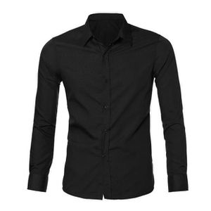 T-SHIRT Mens Casual Luxury élégante robe Slim Fit Casual T