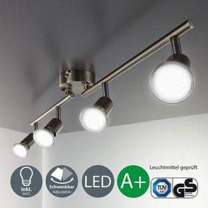 PLAFONNIER plafonnier LED 4 spots orientables, 4X3W, GU10, IP