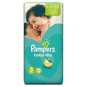 Couche pampers achat vente pas cher cdiscount - Couche pampers baby dry taille 3 ...