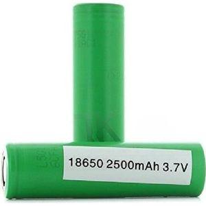 PILES 2 Accus INR18650-25R 3.6v 18650 Samsung
