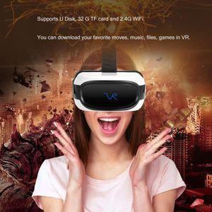 CASQUE RÉALITÉ VIRTUELLE Portable VR Réalité Virtuelle Lunettes 3D Casque 2