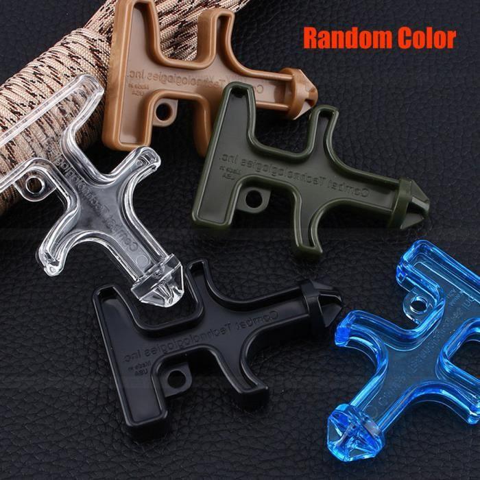 Self Defense Nylon outil de protection en plastique Stinger Duron Percer(random color)