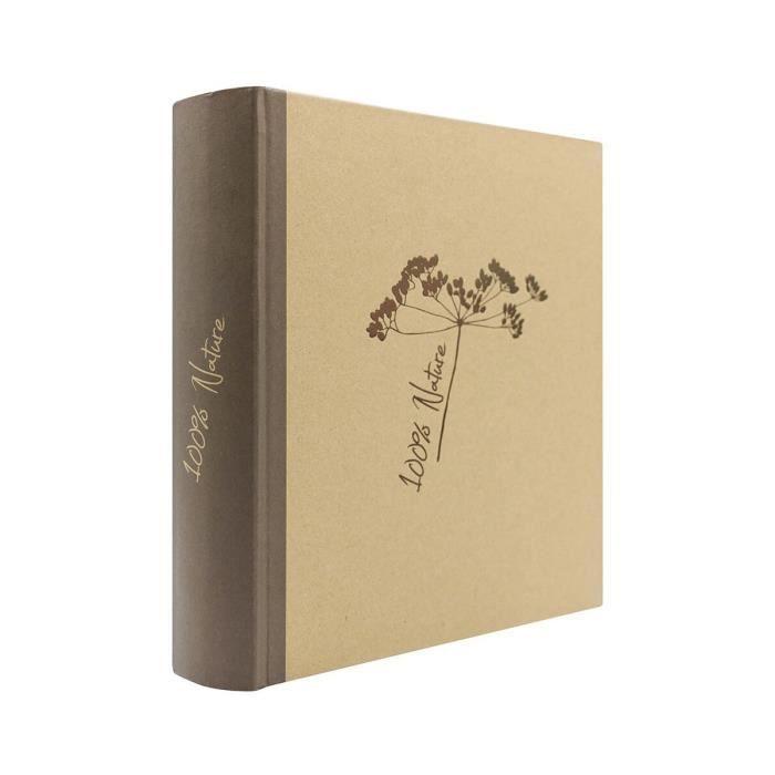 IMAGINE Album photo à pochettes Pur - 400 photos - 11,5 x 15 cm
