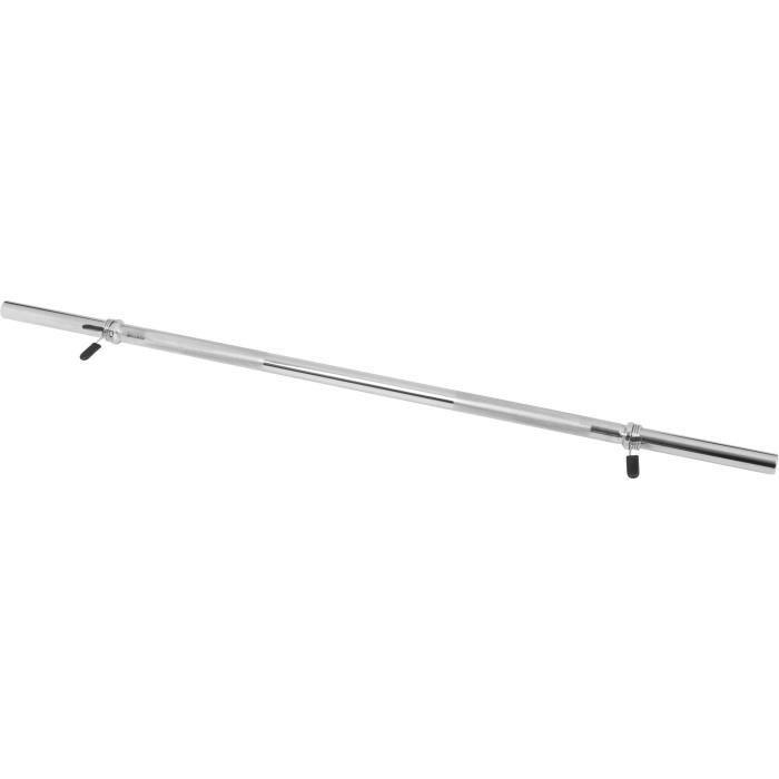 Barre longue avec stop disques 120cm x 30mm