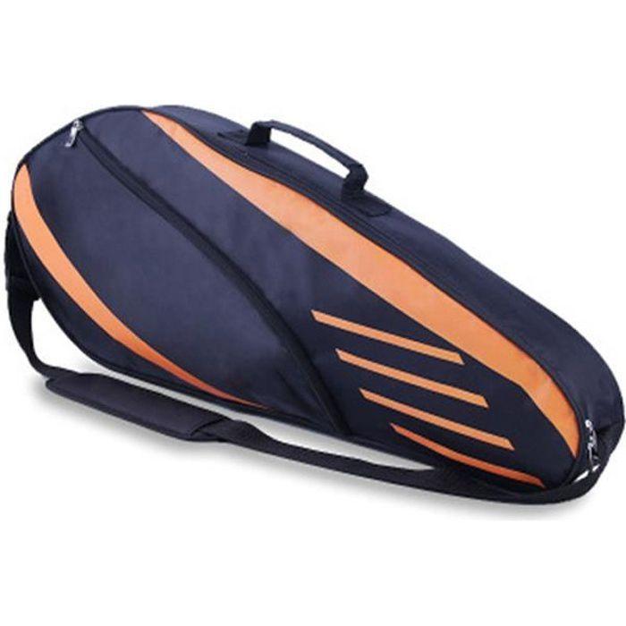 Sac à dos étanche de grande capacité pour raquette de tennis, ensemble complet d'accessoires de sport légers à une épaule