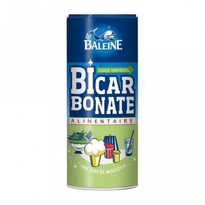 La Baleine Bicarbonate Alimentaire Usage Universel 400g (lot de 6)