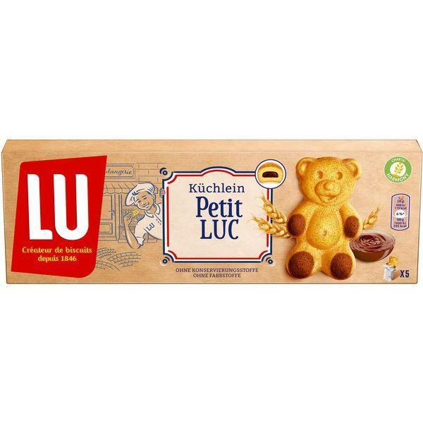 7x Mondelez Lu Petit Luc Gâteaux 150g