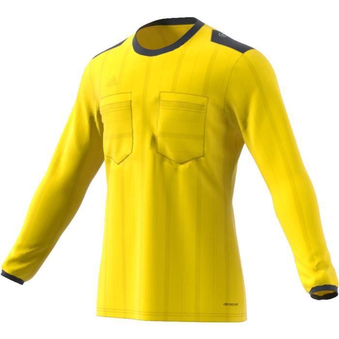 Vêtements homme Maillots arbitre Adidas Uefa Champions League Referee L/s Jersey