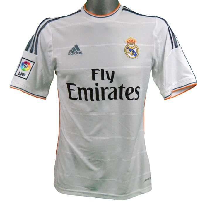 Maillot domicile Real Madrid 2013/2014 Benzema