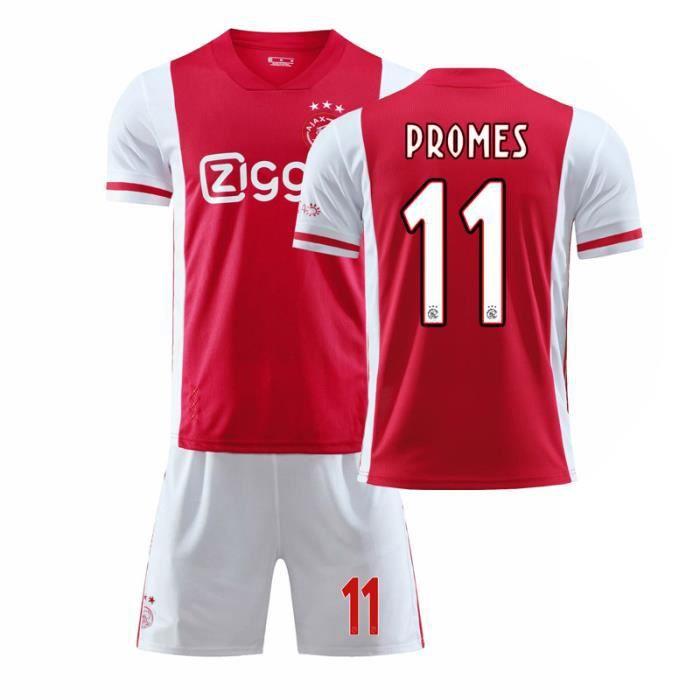 112420-21 Ajax Jerseys Football Jerseys personnalisés Kits sportifs Hommes Enfants Uniformes d'équipe de match imprimés Home Away
