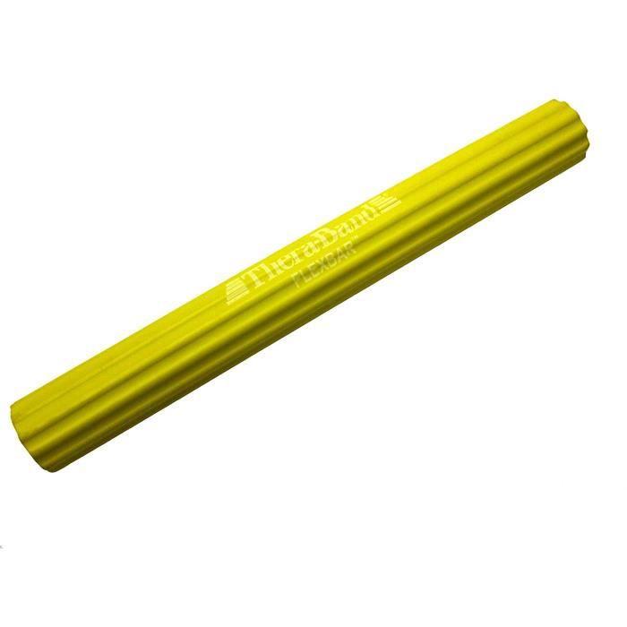 Thera-Band Bâton d'entraînement flexible - Extra léger, jaune