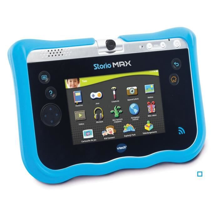 VTECH Storio Max 5'' - Coque De Protection Bleue