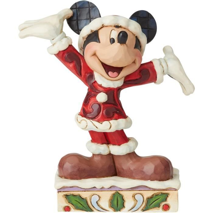 STATUE - STATUETTE Mickey & Minnie Mouse Mini Figurine Mickey Mouse N