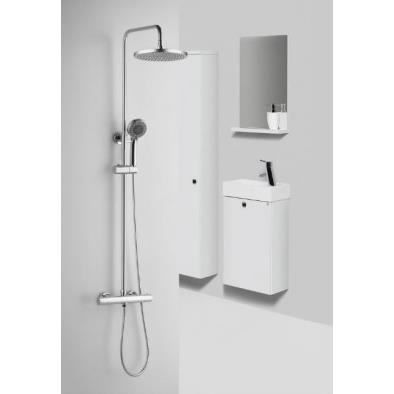 combin de douche avec robinetterie int gr e le achat vente douchette flexible combin de. Black Bedroom Furniture Sets. Home Design Ideas
