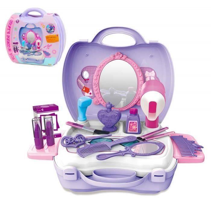 Shan Maquillage Fille Enfants 2 4 Ans Jouets Kits De Coiffure