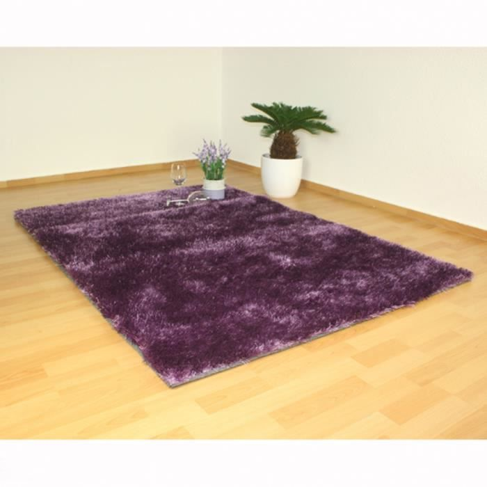tapis shaggy violet design motif carpet 120 x 1 achat vente tapis cdiscount. Black Bedroom Furniture Sets. Home Design Ideas