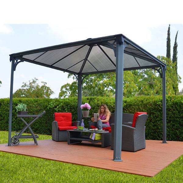 tonnelle couv 39 terrasse 3x3m achat vente tonnelle barnum tonnelle couv 39 terrasse 3x3m. Black Bedroom Furniture Sets. Home Design Ideas