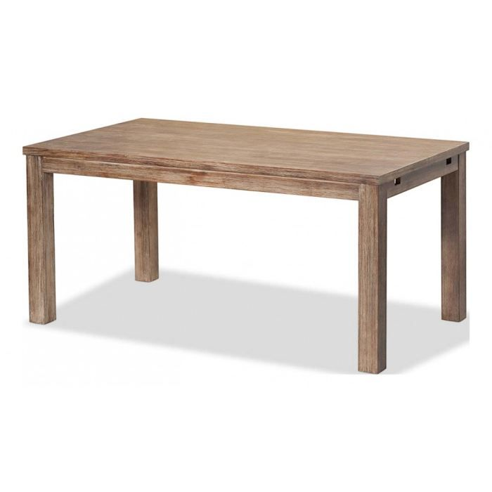 Object moved for Table rectangulaire 160 cm avec rallonge