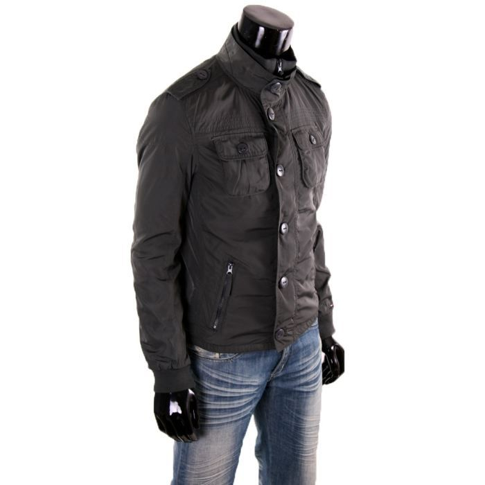 veste tommy hilfiger homme grise gris achat vente blouson veste tommy hilfiger homme. Black Bedroom Furniture Sets. Home Design Ideas