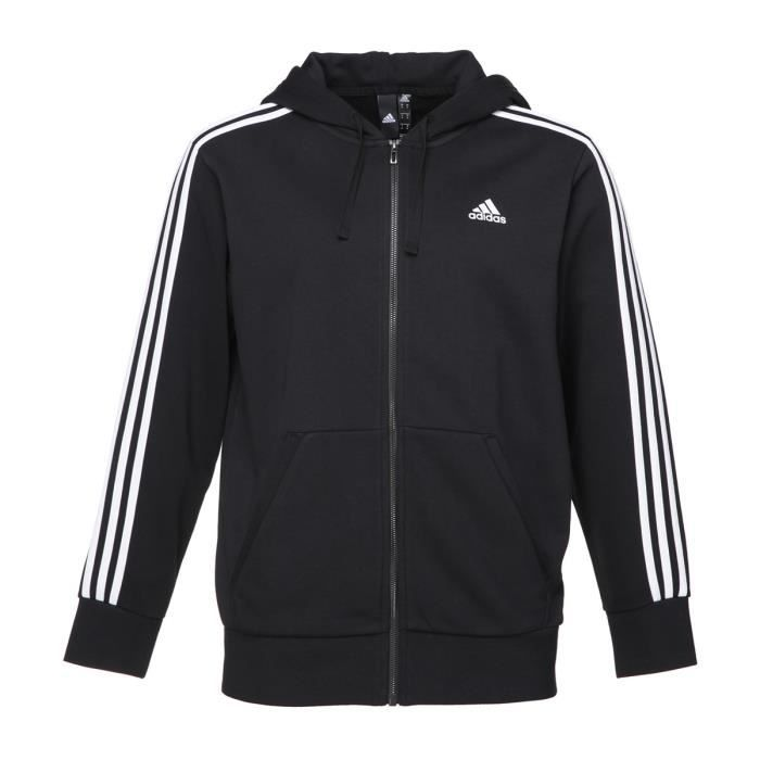 Veste à capuche adidas Essentials 3 Stripes