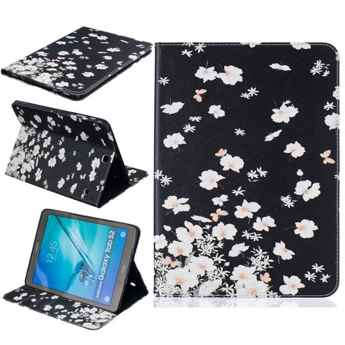 tablette etui pour samsung galaxy tab s2 t815 t810 9 7. Black Bedroom Furniture Sets. Home Design Ideas