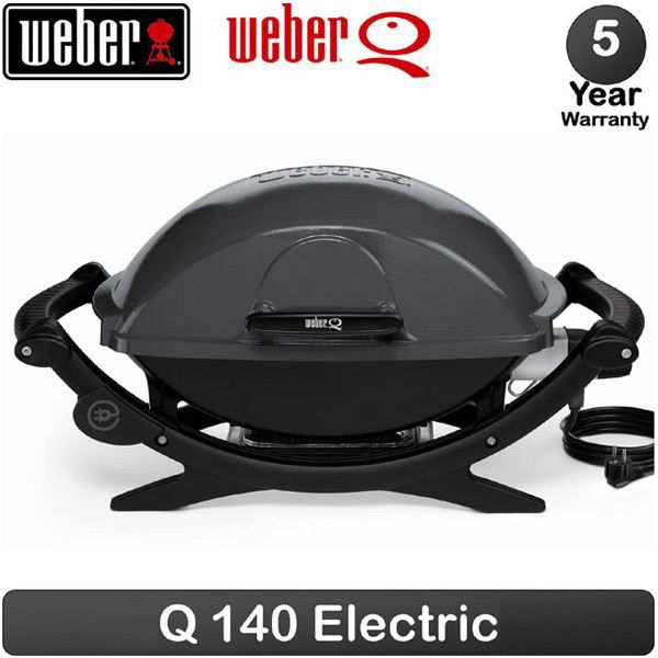 barbecue electrique weber q140 gris anthracite achat vente barbecue barbecue electrique. Black Bedroom Furniture Sets. Home Design Ideas
