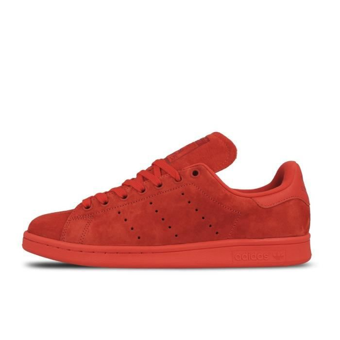Basket ADIDAS STAN SMITH - Age - ADULTE, Couleur - ROUGE, Genre - HOMME