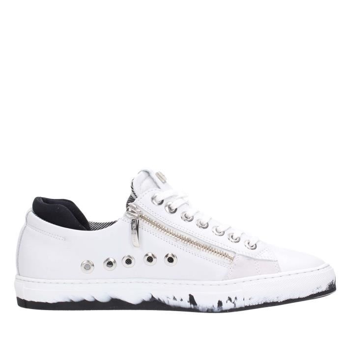 Cesare Paciotti Sneakers Homme Blanc, 43