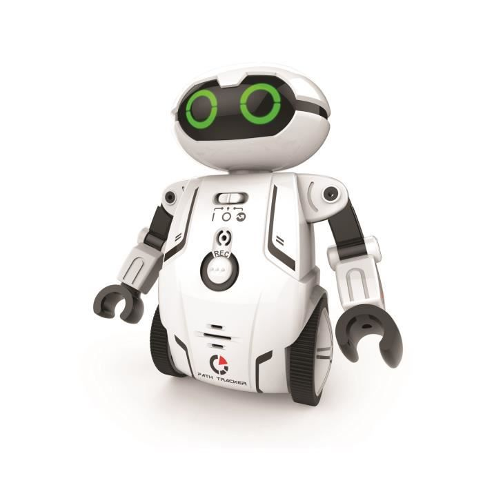 ROBOT - ANIMAL ANIMÉ SILVERLIT - Maze Breaker - Robot Interactif - Blan