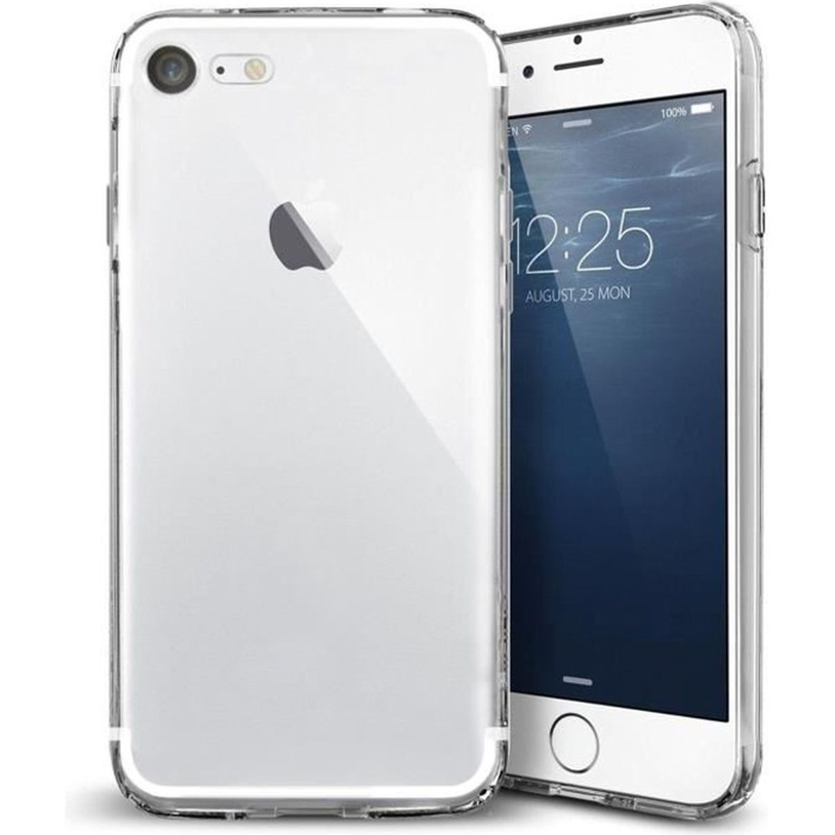 coque souple translucide iphone 7