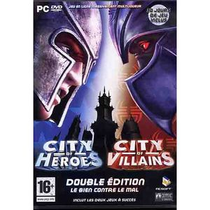 JEU PC CITY OF HEROES + CITY OF VILLAINS / PC DVD-ROM Dou