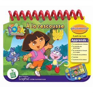 LIVRE INTERACTIF ENFANT Leapfrog Mon premier Leappad Dora à la rescousse