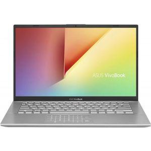 """Achat PC Portable ASUS Ultrabook - Asus VivoBook 14 X412FA-EK401T - Écran (14"""") - Core i5 i5-8265U - 8 Go - 256 Go SSD - Argent pas cher"""